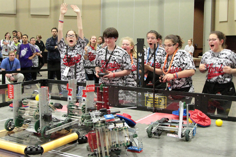 TSA VEX Robotics -- 1 Kalahari Classic VRC World Qualifier 01182019